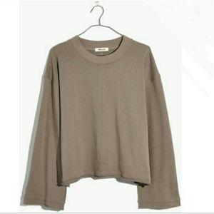 Madewell Bell Sleeve Pullover Sweatshirt So Soft!